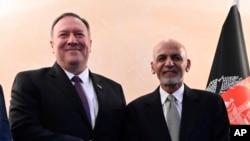 افغان صدر اشرف غني او د امریکې خارجه وزیر مایک پامپېیو د میونځ سکېورټي کانفرنس په موقع