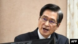 Menteri Pertahanan Taiwan, Yen De-fa. (Foto: dok).