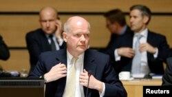 İngiltere Dışişleri Bakanı William Hague, Avrupa Birliği'nin Suriye'ye yönelik silah ambargosunun uzatılmasını engelleyen isim oldu.