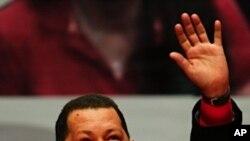 ປະທານາທິບໍດີ Hugo Chavez ແຫ່ງ Venezuela. ວັນທີ 28 ກຸມພາ 2012