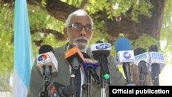 Uwahoze ari umukuru w'inama nshingamteka muri Somaliya