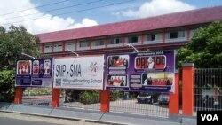 Sekolah Kesatuan Bangsa di Yogyakarta menolak permintaan pemerintah Turki agar menutup sekolah karena disinyalir terkait dengan tokoh Fethulah Gulen yang gagal melakukan kudeta beberapa waktu lalu (VOA/Munarsih).