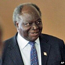 Le président kenyan Mwai Kibaki
