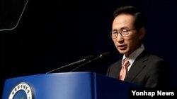 한국 이명박 대통령. (자료 사진)