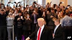 Donald Tramp, novoizabrani predsednik SAD