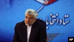 Thương thuyết gia hàng đầu của Iran về hạt nhân Saeed Jalili.
