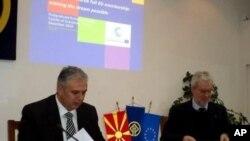 Роберт Лидел од ЕУ во Охрид
