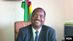 ZANU-PF spokesperson Rugare Gumbo, December 2012. (S. Mhofu/VOA)