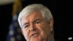 美國共和黨總統參選人金里奇。