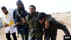 Forcat e Gadafit shënojnë përparim në disa qytete