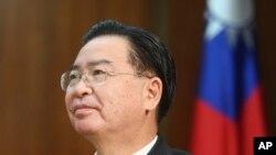 台灣外長吳釗燮。