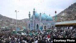 جشن نوروز در کارتۀ سخی کابل