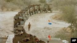 Últimas tropas da África do Sul saem de Angola em 1988 (Foto de Arquivo)