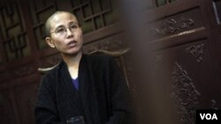 Liu Xia, isteri pemenang Hadiah Nobel Perdamaian Tiongkok Liu Xiaobo.