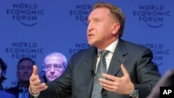 Russian Deputy Prime Minister Igor Shuvalov attends a session on the third day of the annual meeting of the World Economic Forum in Davos, Switzerland, Jan. 19, 2017.