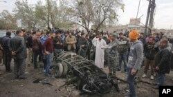 El grupo Estado islámico se responsabilizó por el ataque en momentos en que el presidente de Francia, Francois Hollande se encuentra de visita en Irak.