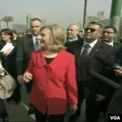 Hillary Clinton tokom posjete Srednjem istoku