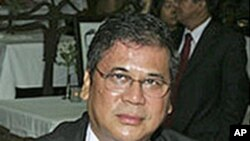 A recent photo of Kyaw Win, the second-ranking official at the Burmese embassy in Washington, D.C.