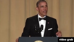 Президент США Барак Обама. Вашингтон. 30 апреля 2016 г.