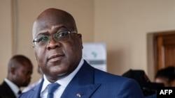 Perezida Félix Tshisekedi wa Republika ya demokarasi ya Kongo.