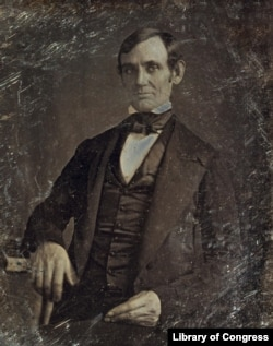Abraham Lincoln in 1846, by Nicholas Shepherd