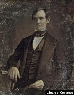 Abraham Lincoln in 1846, by Nicholas Shepherd