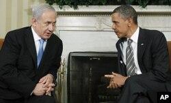 Le président Barack Obama et le Premier ministre Benjamin Netanyahu à la Maison-Blanche
