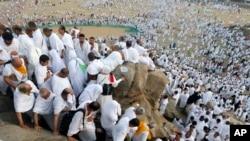 Mahajjata a hawan Arfa. APTOPIX Saudi Hajj