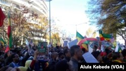 Ethiopians Ralley In Front Of The Saudi Embassy In Washington, DC 1.1