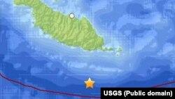 지난 12일 지진이 발생한 솔로몬 제도 지도.
