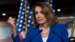 FILE - House Speaker Nancy Pelosi.