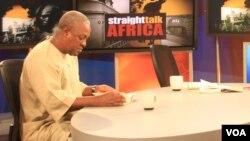 Phó Tổng thống John Dramani Mahama của Ghana lên thay Tổng thống John Atta Mills, sau khi Tổng thống từ trần