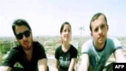 Ba nhà thể thao người Mỹ bị Iran cầm giữ: Josh Fattal (trái) Sarah shourd, và Shane Bauer