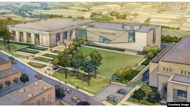 Artist's rendition of the planned Mississippi Civil Rights Museum in Jackson. (Courtesy: Mississippi History Office)