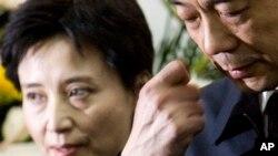 2007年薄熙来夫妇参加薄一波追悼会