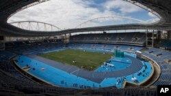 Стадион в Рио-де-Жанейро. Бразилия. 14 мая 2016 г.