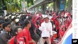 تھائی لینڈ: نائب وزیر اعظم کے خلاف مقدمے تک مظاہرین کا منشتر ہونے سے انکار