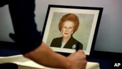 Cựu Thủ tướng Anh Margaret Thatcher, còn được mệnh danh là 'Người đàn bà thép'.