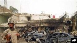 자살폭탄공격 현장(자료사진)
