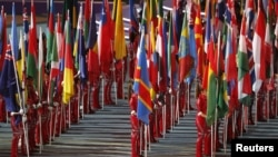 Флаги стран участниц Олимпиады-2012