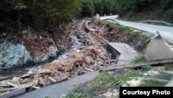 "Radovi na izgradnji mini hidroelektrane (Foto: Udruženje ""Odbranimo reke Stare planine"", ustupio Milan Tokić)"