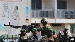 Patrouille de l'armée guinéenne à Conakry (Archives)