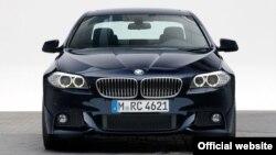 BMW série 5, modelo de 2012