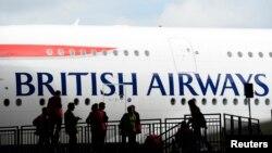 Maskapai British Airways membatalkan penerbangan ke Afrika Barat karena perebakan Ebola (foto: dok).