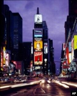 海史密斯拍摄的纽约时代广场