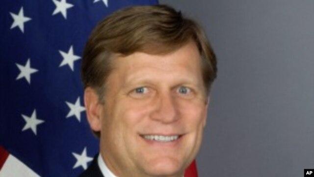 Michael McFaul, U.S. ambassador in Moscow
