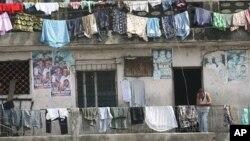 Wilayah kumuh di Nigeria, negara berpenghasilan menengah yang padat penduduknya. (Foto: Dok)