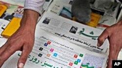 အတုိက္အခံသတင္း ေဖာ္ျပတဲ့ မီဒီယာေတြ ပိတ္ဖုိ႔ အီရန္အစုိးရ သတိေပး