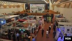نمایشگاه صنایع ملی و تولیدات داخلی برای چهار روز در شهر هرات راه اندازی گردیده است .