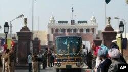د هند او پاکستان ترمنځ د واگې ترانزیتي لار
